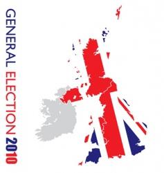 general election British vector image vector image