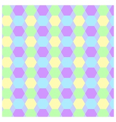 pattern background hexagon vector image