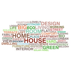 House and home vector image vector image