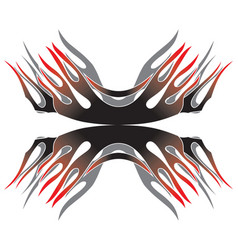 label design vector image vector image