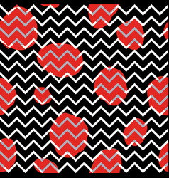 abstact seamless pattern dotted line texture dot vector image