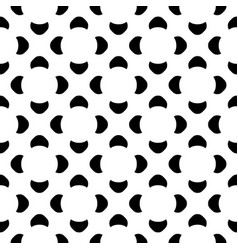 abstract pattern with simple geometric figures vector image