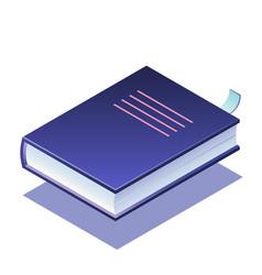 Book isometric vector