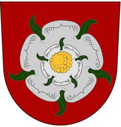Coat of arms of rosenheim in upper bavaria in vector