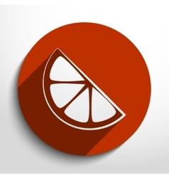Lemon web icon vector