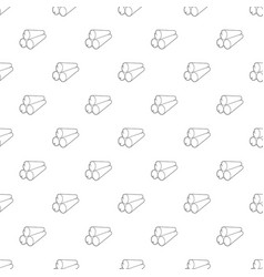 Logs icon outline style vector