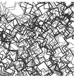 Random chaotic lines abstract grayscale texture vector