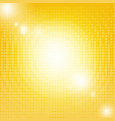 sun background with blur vector image