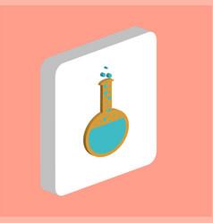tube computer symbol vector image