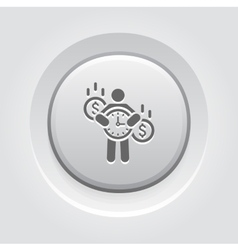 Value of Time Icon vector