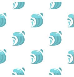 Wave pattern flat vector