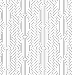 Slim gray triangles vector image vector image