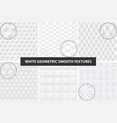 Smooth seamless textures vector