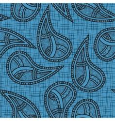 ethnic paisley design vector image vector image