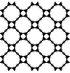 seamless pattern rounded geometric lattice vector image vector image