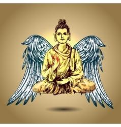 With buddha vector