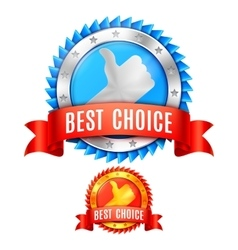 Best Choice Awards vector image vector image