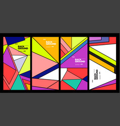 2021 banner background and social media post vector