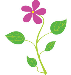 Flower art vector