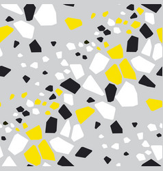geometric shapes hand drawn seamless pattern vector image