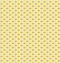 Gold interlocking pattern vector