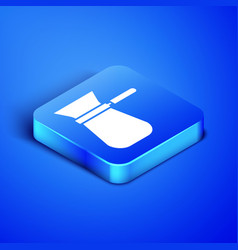 isometric coffee turk icon isolated on blue vector image