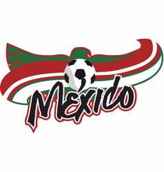 Mexico futbol vector