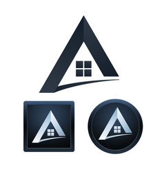Real estate icons design isolated vector