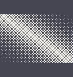 rhombus halftone pattern geometric technology vector image