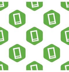 Smartphone pattern vector image
