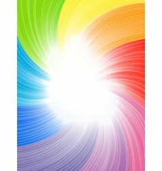 vector abstract colorful background vector image