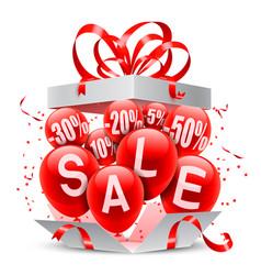 sale event announcement vector image vector image