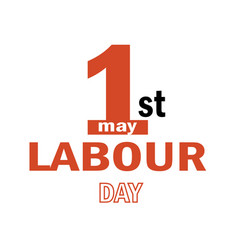 Labour day logo concept with wrenches vector