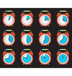 Alarm Clock - Time Countdown Set vector image