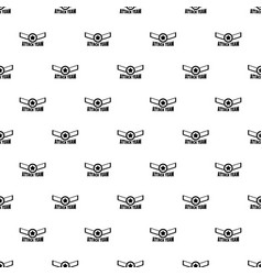 attack star team pattern seamless vector image