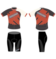 Cycling vest high extreme vector