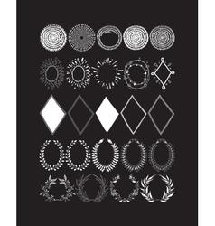 elements design vector image