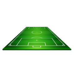 football field soccer field vector image