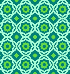 Green geometric pattern vector