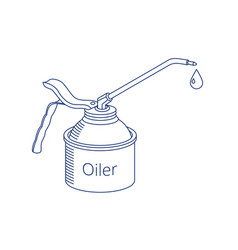 Oiler icon vector