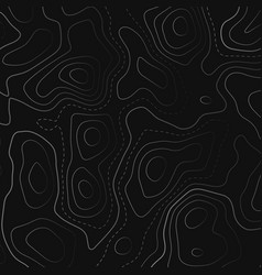 Topographic map in black background vector