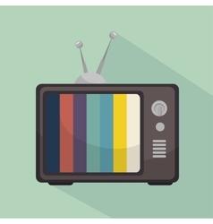 TV entertainment design vector