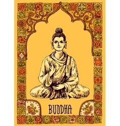 With buddha vector