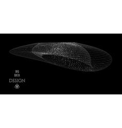 Big data design concept vector image vector image