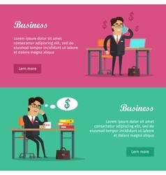 Business Baners Set vector