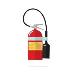 Fire extinguisher icon isolated on white vector