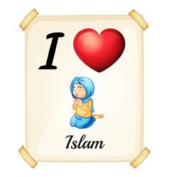 Islam vector