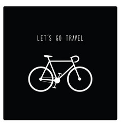 lets go travel2 vector image