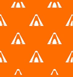 Tepee pattern seamless vector
