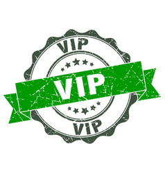 Vip stamp sign seal vector